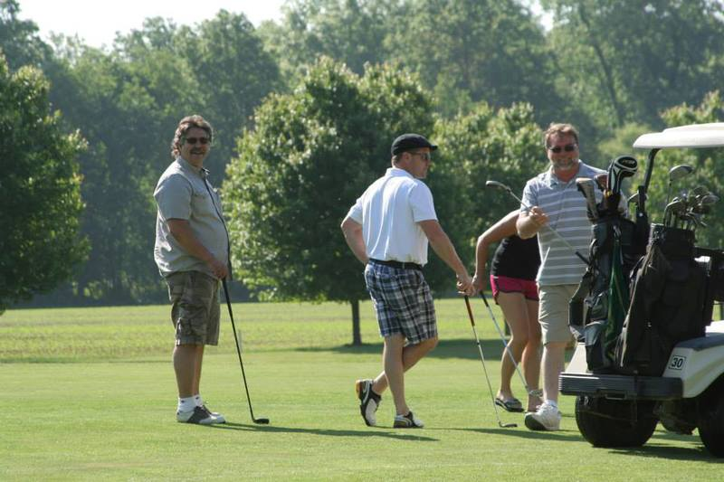 Golfing Event for the Museum