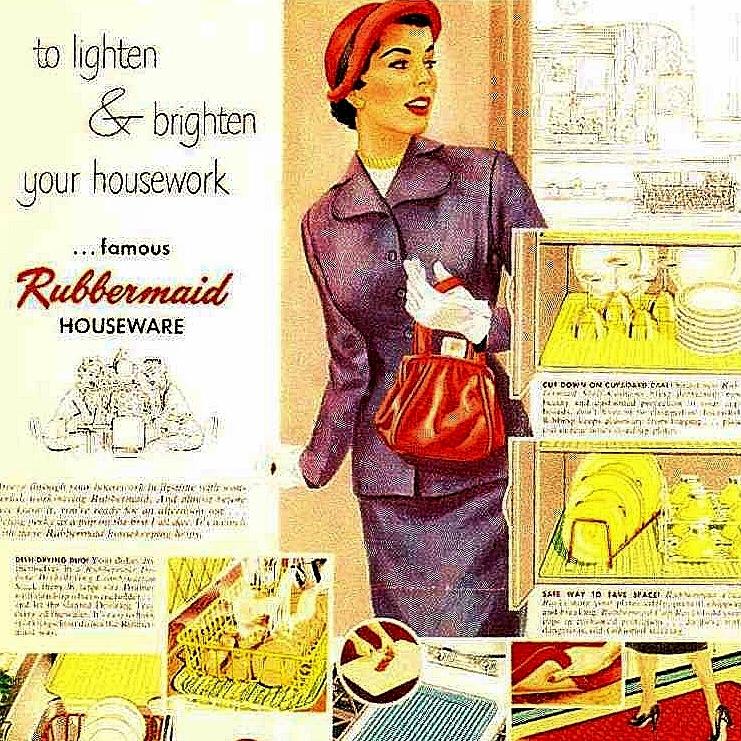 1950 Rubbermaid Advertisement