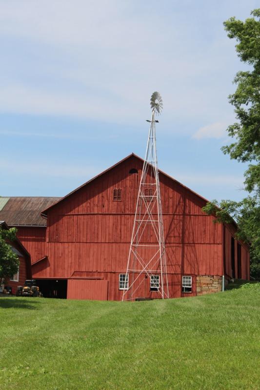 Amish Windmill Water Pump