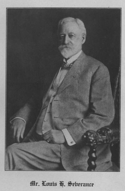 Portrait of Louis H. Severance