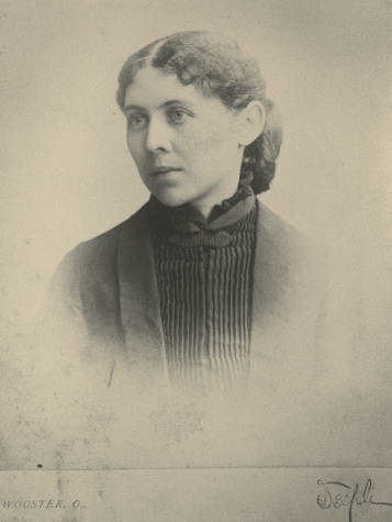 Portrait of Annie B. Irish