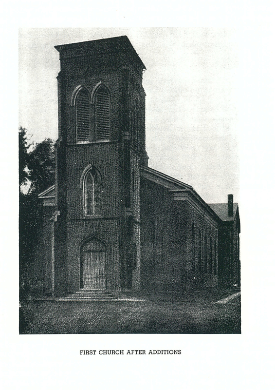 First Church After Additions