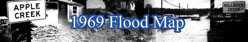 1969 Flood Map