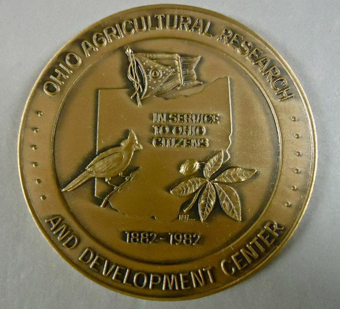 OARDC Centennial Medal 1882-1982