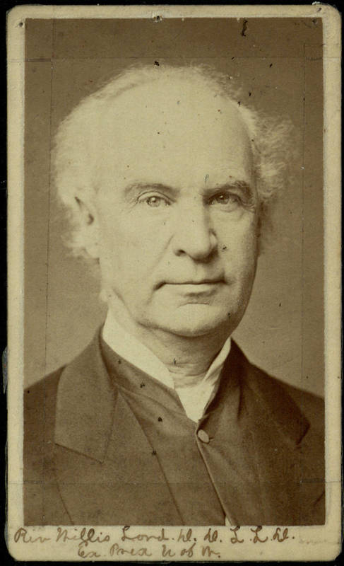 The First President of the University of Wooster, Dr. Willis Lord