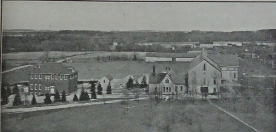 Early OARDC Wooster Campus Including Administration Building from 1911 Souvenir Booklet