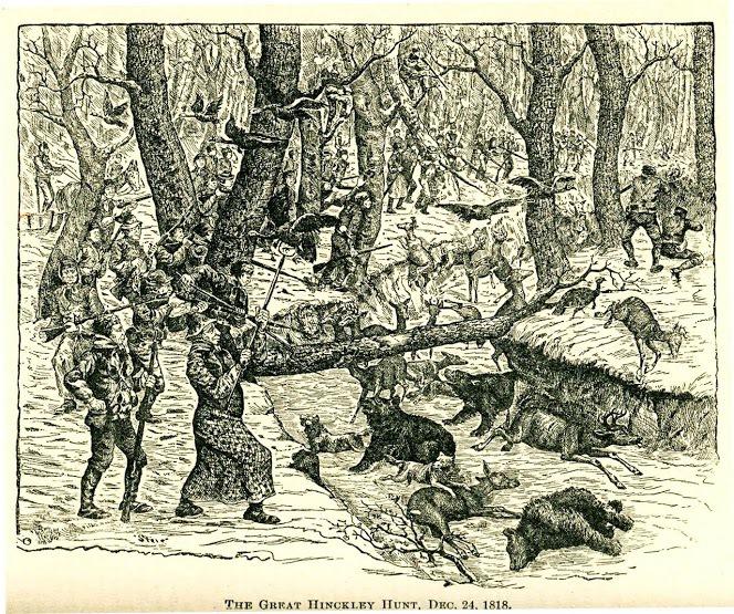 The Great Hinckley Hunt, Dec 24, 1818