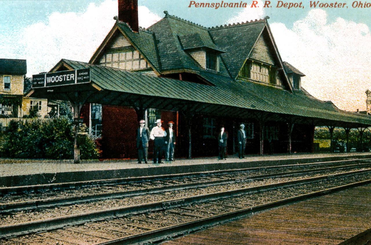 Wooster's Pennsylvania & Ohio Passenger Depot