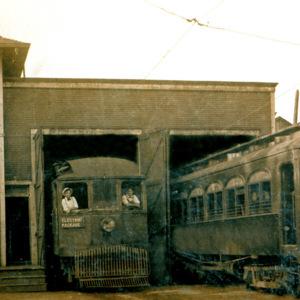 North Grant and West Liberty Interurban Car Barn