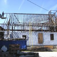 Original Second Baptist is Dismantled for Storage