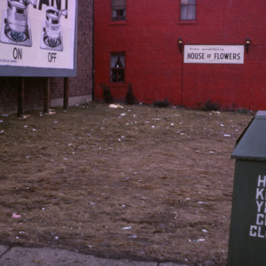 Empty Lot on West Liberty Street, circa 1985