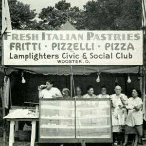 Photo of Lamplighters Fair Stand 1948