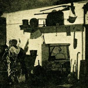 Pioneer fireplace
