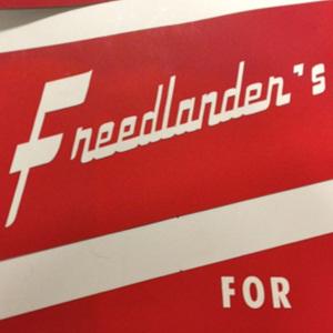 Freedlanders Sign 2.jpg