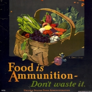 John_E_Sheridan_WWI_US_Food_is_Ammunition_Dont_Waste_it (thumbnail).jpg
