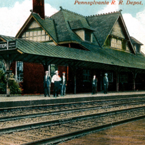Wooster's Pennsylvania & Ohio Passenger Depot, Postcard
