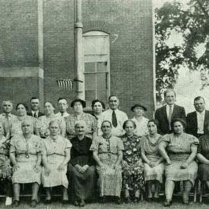 Photo of Italian Society Citizenship Class of 1939