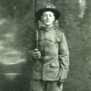 WWI Photo of Venanzo Tomassetti