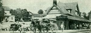 Wooster's Pennsylvania & Ohio Passenger Depot, 1908
